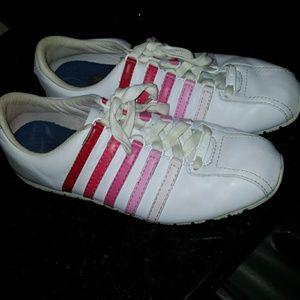 KSwiss Pink Gradient Sneakers
